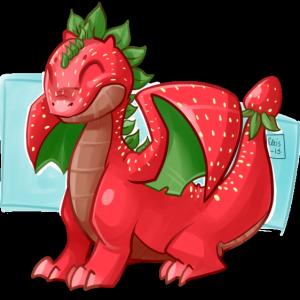 fruit du dragon avec fruits exotiques et fruits rouges