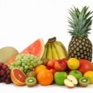 fruits exotiques avec une pointe de fraicheur