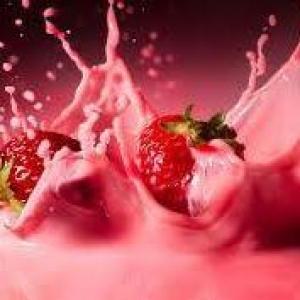 blood milkshake