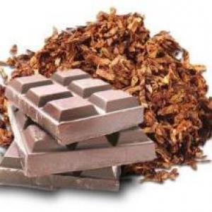 Tobacco honey chocolate